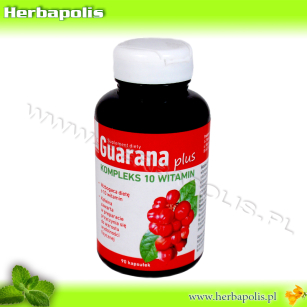 GUARANA plus  90 kapsułek
